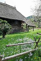 Germany, Baden-Wurttemberg, Gutach: open-air museum Vogtsbauernhof | Deutschland, Baden-Wuerttemberg, Schwarzwald, Gutach: Freilichtmuseum Vogtsbauernhof
