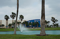 Panasonic recently expanded its operations in the Sharyland Business Park in McAllen, Texas, Sunday, April 4, 2010. Trade with Mexico is flourishing in this town despite the spike in drug-related violence south of the border. While the State Department issues travel warnings to nearby Mexican cities, the number of good-laden trucks that crosses into McAllen is growing, as is trade-related investment. ..PHOTO/ Matt Nager