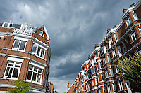 Summer day in Chelsea, London, UK