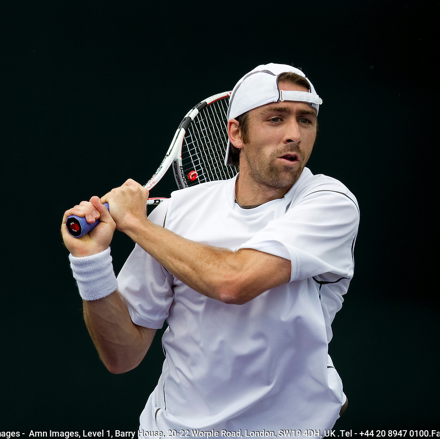 Benjamin BECKER (GER) against Simon GRUEL (GER) in the first round. Becker beat Gruel 6-3 6-2..International Tennis - 2010 ATP World Tour - Sony Ericsson Open - Crandon Park Tennis Center - Key Biscayne - Miami - Florida - USA - Wed 24 Mar 2010..© Frey - Amn Images, Level 1, Barry House, 20-22 Worple Road, London, SW19 4DH, UK .Tel - +44 20 8947 0100.Fax -+44 20 8947 0117