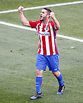 Atletico de Madrid's Koke Resurrecccion celebrates goal during La Liga match. March 19,2017. (ALTERPHOTOS/Acero)