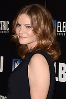 "LOS ANGELES - OCT 24:  Jennifer Jason Leigh at the ""LBJ"" World Premiere at the ArcLight Theater on October 24, 2017 in Los Angeles, CA"