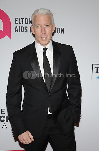 New York,NY- October 28: Anderson Cooper attends the Elton John AIDS Foundation's 13th Annual An Enduring Vision Benefit at Cipriani Wall Street on October 28, 2014 in New York City In New York City on October 27, 2014 . Credit: John Palmer/MediaPunch
