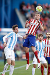Atletico de Madrid's Saul Niguez (r) and Malaga CF's Duje Cop during La Liga match. April 23,2016. (ALTERPHOTOS/Acero)