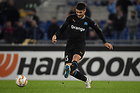 Duje Caleta-Car of Marseille in action during the Uefa Europa League 2018/2019 football match between SS Lazio and Marseille at stadio Olimpico, Roma, November, 08, 2018 <br />  Foto Andrea Staccioli / Insidefoto
