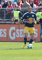 April 27, 2013: New York Red Bulls midfielder Jonny Steele #22 in action during a game between Toronto FC and the New York Red Bulls at BMO Field  in Toronto, Ontario Canada..The New York Red Bulls won 2-1.