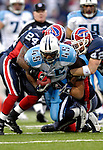 24 December 2006: Tennessee Titans running back Ahmard Hall (45) in action against the Buffalo Bills at Ralph Wilson Stadium in Orchard Park, New York. The Titans edged out the Bills 30-29. Mandatory Photo Credit: Ed Wolfstein Photo