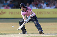 Stevie Eskinazi hits 4 runs for Middlesex during Essex Eagles vs Middlesex, Vitality Blast T20 Cricket at The Cloudfm County Ground on 6th July 2018