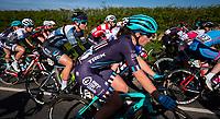 Picture by Alex Whitehead/SWpix.com - 03/05/2018 - Cycling - 2018 Asda Women's Tour de Yorkshire - Stage 1: Beverley to Doncaster - Trek Drops' Hannah Payton.