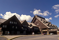 lodge, Yellowstone National Park, WY, Old Faithful Inn, Wyoming, Old Faithful Lodge in Yellowstone Nat'l Park in Wyoming.