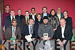 SEMINAR: A seminar was held in the Brandon Hotel, Tralee on Saturday evening to mark Muslim day attending the seminar Front l-r: Dr Mamoon Rashid, Ted Fitzgerald(mayor of Kerry), Ahmad Noonan and Jimmy Denihan(TD). Back were: George Stacey, Richard Rutland, Sean Rutland, Ahmed Muzaffar, Blanche Rutland, David Grey, Grainne Landers, Marie Duffy and Ian Rutland.....   Copyright Kerry's Eye 2008