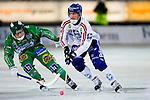 Stockholm 2013-03-05 Bandy SM-semifinal 2 , Hammarby IF - Edsbyns IF :  .Edsbyn 10 Daniel Liw.(Byline: Foto: Kenta Jönsson) Nyckelord: