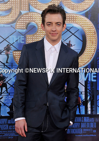 "KEVIN McHALE.attends the World Premiere of ""Glee The 3D Concert Movie"" at the Regency Village Theater, Westwood, Los Angeles_06/08/2011.Mandatory Photo Credit: ©Crosby/Newspix International. .**ALL FEES PAYABLE TO: ""NEWSPIX INTERNATIONAL""**..PHOTO CREDIT MANDATORY!!: NEWSPIX INTERNATIONAL(Failure to credit will incur a surcharge of 100% of reproduction fees).IMMEDIATE CONFIRMATION OF USAGE REQUIRED:.Newspix International, 31 Chinnery Hill, Bishop's Stortford, ENGLAND CM23 3PS.Tel:+441279 324672  ; Fax: +441279656877.Mobile:  0777568 1153.e-mail: info@newspixinternational.co.uk"