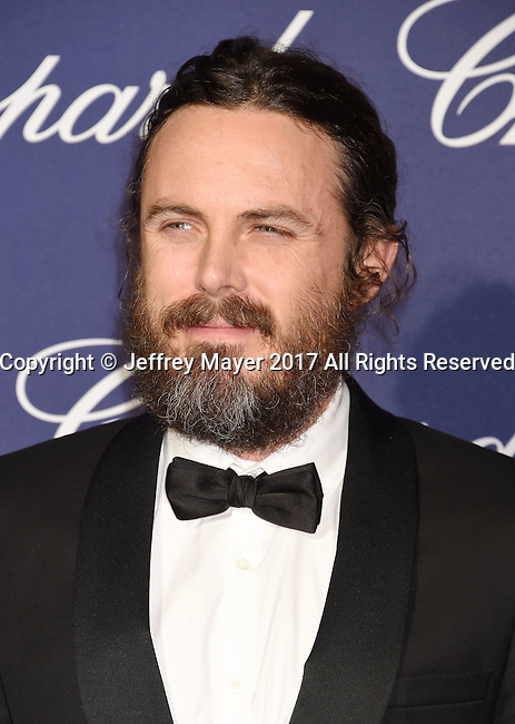 PALM SPRINGS, CA - JANUARY 02: Actor Casey Affleck attends the 28th Annual Palm Springs International Film Festival Film Awards Gala at the Palm Springs Convention Center on January 2, 2017 in Palm Springs, California.