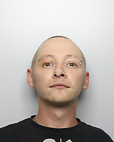Pictured: Damion Harris, custody picture.<br /> Re: A man who killed a hotel guest after setting fire to his hotel, by lighting curtains and a linen cupboard, has been jailed for 16 years by Swansea Crown Court.<br /> 31 year old Damion Harris, of Llanbadarn Fawr, west Wales, admitted the manslaughter of Juozas Tunaitis, arson and inflicting grievous bodily harm.<br /> Belgrave House Hotel (Ty Belgrave Hotel) in Aberystwyth, Ceredigion was burned down in July 2018