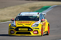 #3 Tom Chilton Team Shredded Wheat Racing with Gallagher Ford Focus RS during BTCC Practice  as part of the Dunlop MSA British Touring Car Championship - Rockingham 2018 at Rockingham, Corby, Northamptonshire, United Kingdom. August 11 2018. World Copyright Peter Taylor/PSP. Copy of publication required for printed pictures.
