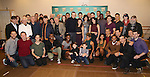 """The cast and creative team during the photocell for """"A Bronx Tale - The New Musical""""  at the New 42nd Street Studios on October 21, 2016 in New York City."""