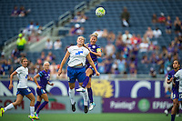 Orlando, FL - Sunday July 10, 2016:   during a regular season National Women's Soccer League (NWSL) match between the Orlando Pride and the Boston Breakers at Camping World Stadium.