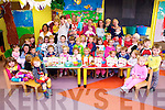 Children from Tir na nOg Childcare in Ballybunion helped to raise €381 on Friday as part of the Cheerios Childline Breakfast Together Week 6th - 12 October 2014.