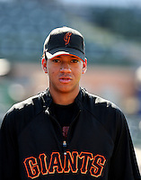 Ehire Adrianza / AZL Giants..Photo by:  Bill Mitchell/Four Seam Images