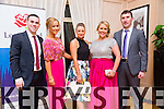 Enjoying Lee Strand Social on Saturday night in the Pavilion In Ballygarry House Hotel were John Sayers, Breda Fitzgerald, Marguerite Trant, Catriona Sayers and John Bowler
