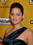 BEVERLY HILLS, CA. - January 17: Marion Cotillard arrives at The Weinstein Company 2010 Golden Globe After Party at The Beverly Hilton Hotel on January 17, 2010 in Beverly Hills, California.