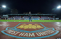 General view as West Ham United supporters say farewell to the Boleyn ground playing a friendly match on the pitch at the Boleyn Ground, London, England on 20 May 2016. Photo by Andy Rowland.