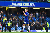 2nd December 2017, Stamford Bridge, London, England; EPL Premier League football, Chelsea versus Newcastle United; Daniel Drinkwater of Chelsea applauds the fans