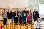 """The History Lecture """"A Century of Politics in the Kingdom""""<br /> The History Lecture """"A Century of Politics in the Kingdom"""" was held in the Kerry writers museum Sceanchai centre last night 17th January 2019, hosted by Owen O'Shea and Gordon Revington.<br /> A number of local past and present politicians and councillors, together with political enthusiasts braved the elements to attend an informative evening and experience an interesting presentation on the history of politics in the Kingdom of Kerry.<br /> Owen and Gordon took the audience down a memory lane of politicians that forged the political era in our area from the 1800's to the present day. Front Row: Ann Dillon, Gordon Revington, Owen O'Shea, Mary Buckley.Back Row: Declan Finucane, John Moloney, Nicholas Cotter, Maurice Cotter, Robert Beasley, Jimmy Moloney, Tim Buckley."""