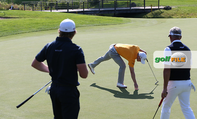 David Horsey (ENG) makes par on the 11th during Round Two of the 2015 BMW International Open at Golfclub Munchen Eichenried, Eichenried, Munich, Germany. 26/06/2015. Picture David Lloyd | www.golffile.ie
