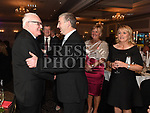 Fr Jim Dunleavy meets his family at the Dominican Ball in the Westcourt hotel. Photo:Colin Bell/pressphotos.ie