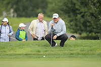 Jamie Donaldson (WAL) on the 2nd green during Round 4 of the D+D Real Czech Masters at the Albatross Golf Resort, Prague, Czech Rep. 03/09/2017<br /> Picture: Golffile   Thos Caffrey<br /> <br /> <br /> All photo usage must carry mandatory copyright credit     (&copy; Golffile   Thos Caffrey)