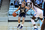 22 November 2016: Charleston Southern's Breannah Bretches (22). The University of North Carolina Tar Heels hosted the Charleston Southern University Buccaneers at Carmichael Arena in Chapel Hill, North Carolina in a 2016-17 NCAA Women's Basketball game. UNC won the game 93-77.