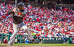 28 September 2014: Miami Marlins shortstop Adeiny Hechavarria in action against the Washington Nationals for the last game of the regular season at Nationals Park in Washington, DC. The Nationals shut out the Marlins with a 1-0 no-hitter going to Nationals pitcher Jordan Zimmermann. Mandatory Credit: Ed Wolfstein Photo *** RAW (NEF) Image File Available ***