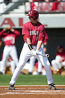 South Carolina first baseman Justin Smoak (12) at bat versus LSU at Sarge Frye Stadium in Columbia, SC, Thursday, March 18, 2007.