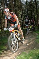 08 APR 2007 - THETFORD, UK - Matt Hart - 100km race - British Mountain Bike Marathon series Round 1. (PHOTO (C) NIGEL FARROW)