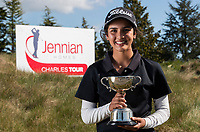 Tara Raj. Jennian Homes Harewood Open Golf, Charles Tour, Harewood Golf Club, Christchurch, Sunday 7th October 2018. Photo: Joseph Johnson/www.bwmedia.co.nz