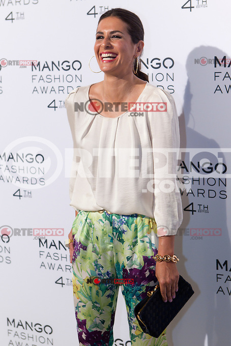 Presenter Nuria Roca attends the Mango Fashion Awards,  Barcelona Spain, May 30, 2012.