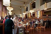 Tschechien, Boehmen, Prag: Jugendstil-Cafe Imperial, von 1914   Czech Republic, Bohemia, Prague: Interior of the Art Nouveau style Cafe Imperial, opened in 1914