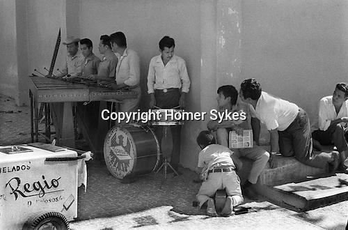 Village band central Mexico.