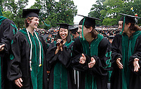 May 22, 2011-Charlottesville, Virginia-USA- The 2011 graduation held on the lawn at the University of Virginia. Photo/Andrew Shurtleff