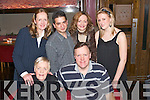 8660-8665.---------.Nifty Fifty.-----------.Joe Mackessy(seated Rt)Ardfert,celebrated his 50th birthday last Saturday night in Gallys bar/restaurant Castlemaine Rd Tralee,with him were Mary Mackessy(seated)standing L-R Jannet Kenny,Joe Stepanek,Helen Mackessy and Loretta Kenny.   Copyright Kerry's Eye 2008