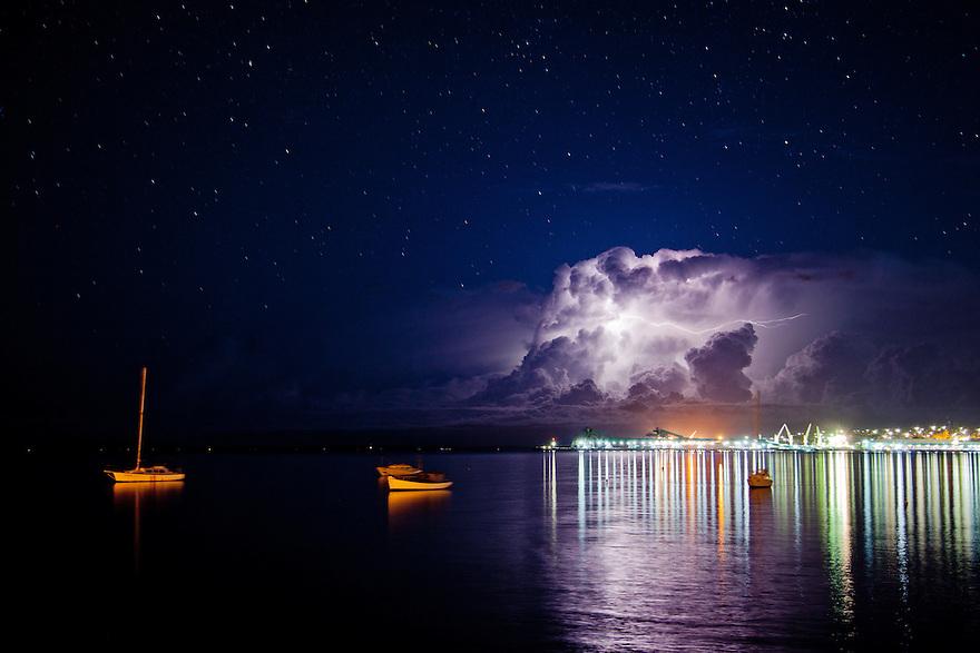 Lightning over Port Lincoln