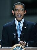 "Washington, DC - October 13, 2009 -- United States President Barack Obama speaks at a White House Music Series ""Fiesta Latina"" on the South Lawn of the White House in Washington on Tuesday, October 13, 2009. .Credit: Alexis C. Glenn / Pool via CNP"