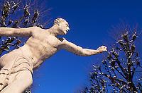 Garten von Schloss Mirabell in  Salzburg, Österreich, Unesco-Weltkulturerbe