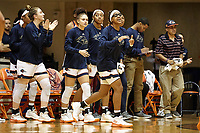 SAN ANTONIO, TX - JANUARY 25, 2018: The University of Texas at San Antonio Roadrunners fall to the Florida Atlantic University Owls 99-65 at the UTSA Convocation Center. (Photo by Jeff Huehn)