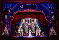 ISO was the forerunner of themed Christmas entertainment for Symphony Orchestras. This is a photo of the new setting I designed in for them in 2002.