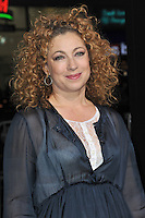 Alex Kingston at the Los Angeles premiere of &quot;Jack Ryan: Shadow Recruit&quot; at the TCL Chinese Theatre, Hollywood.<br /> January 15, 2014  Los Angeles, CA<br /> Picture: Paul Smith / Featureflash