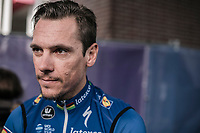 Philippe Gilbert (BEL/Quick Step Floors) pre race. <br /> <br /> 81st Gent-Wevelgem in Flanders Fields (1.UWT)<br /> Deinze &gt; Wevelgem (251km)