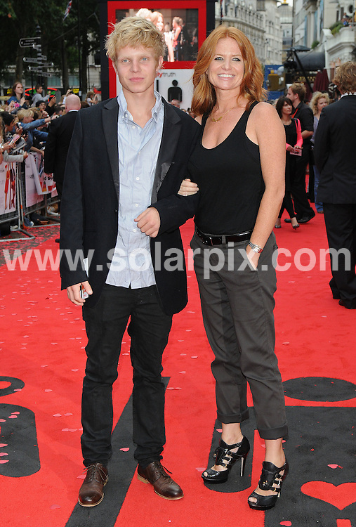 **ALL ROUND PICTURES FROM SOLARPIX.COM**.**WORLDWIDE SYNDICATION RIGHTS**.Premiere of The Ugly Truth at The Vue cinema, Leicester Square, London, UK. 4 August 2009 ..This pic: Patsy and Charlie Palmer..JOB REF: 9698 SSD     DATE: 04_08_2009.**MUST CREDIT SOLARPIX.COM OR DOUBLE FEE WILL BE CHARGED**.**MUST NOTIFY SOLARPIX OF ONLINE USAGE**.**CALL US ON: +34 952 811 768 or LOW RATE FROM UK 0844 617 7637**
